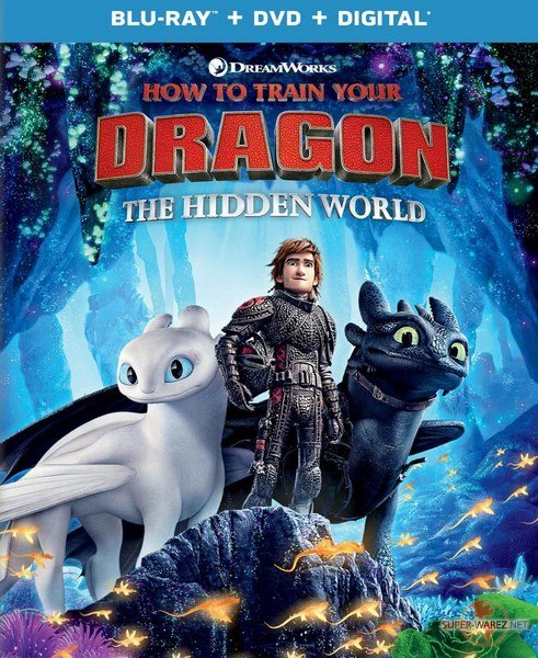 Как приручить дракона 3 / How to Train Your Dragon: The Hidden World (2019) HDRip/BDRip 720p/BDRip 1080p