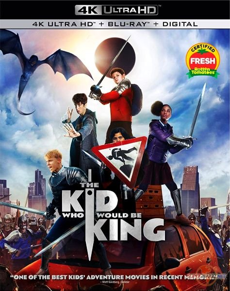 Рождённый стать королём / The Kid Who Would Be King (2019) HDRip/BDRip 720p/BDRip 1080p