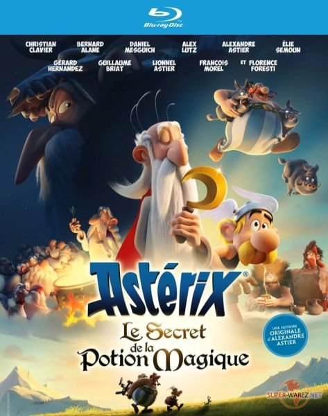 Астерикс и тайное зелье / Asterix: Le secret de la potion magique (2018) HDRip/BDRip 720p/BDRip 1080p
