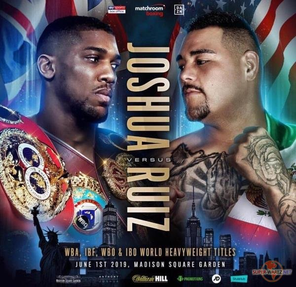 Бокс / Энтони Джошуа - Энди Руис-мл / Boxing / Anthony Joshua vs Andy Ruiz Jr (2019) IPTVRip 720p