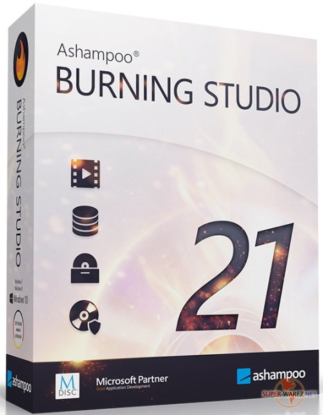 Ashampoo Burning Studio 21.3.42 RePack & Portable by TryRooM