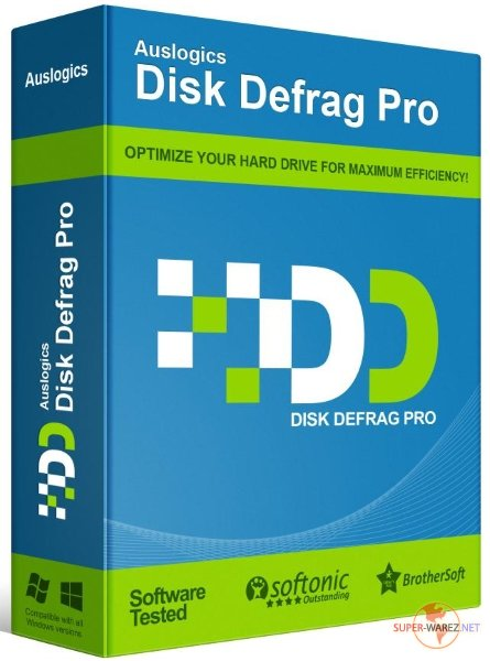 Auslogics Disk Defrag Pro 9.4.0 RePack & Portable by TryRooM