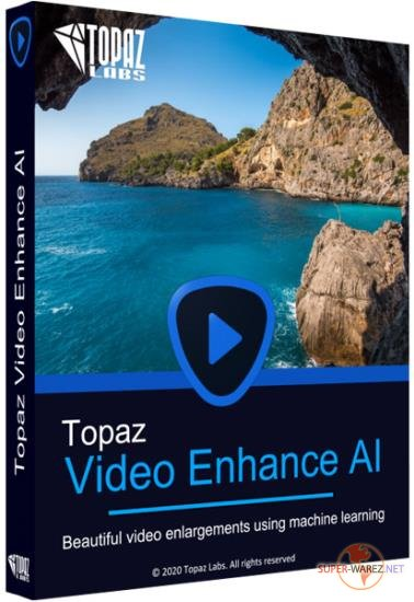 Topaz Video Enhance AI 1.0.2 RePack & Portable by TryRooM