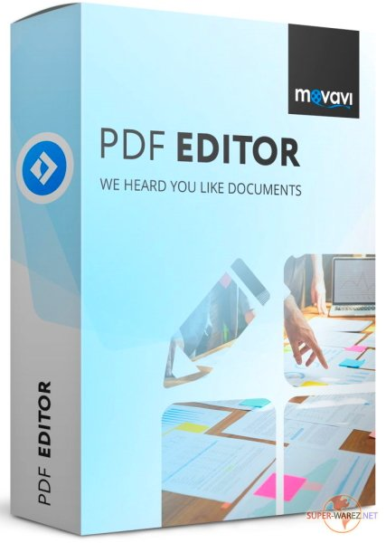 Movavi PDF Editor 3.1.0 RePack & Portable by TryRooM