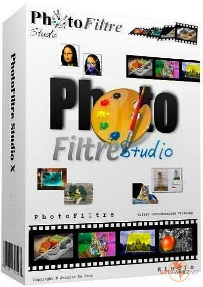 PhotoFiltre Studio X 10.14.1 + Portable